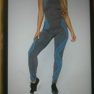 NEW MIX Other - NEW MIX Tank top/Capri  set. Royal Color. OS Size.